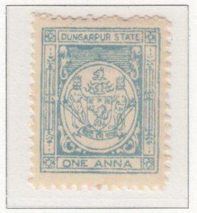 Dungarpur 1 Anna Pale Turquoise-blue