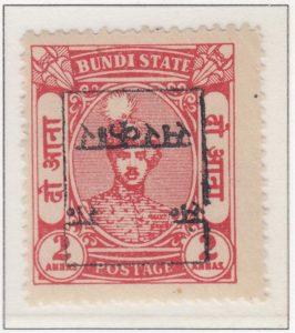 rajasthan-bundi-24-two-annas-vermilion-overprint-inverted